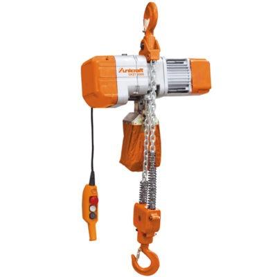 Elektryczne wciągarki łańcuchowe z hakiem